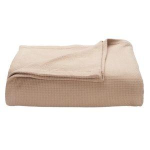 Khaki Cotton Blanket